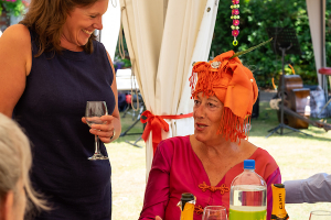 Photos of residents enjoying The Richmond Charities' Indian Summer Party held at Church Estate