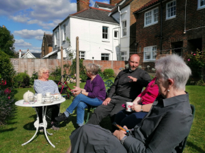 afternoon tea at Queen Elizabeth's Almshouses