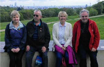 Photos of residents enjoying recent Out & About trips in London
